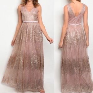 CLEARANCE Sequin Gown